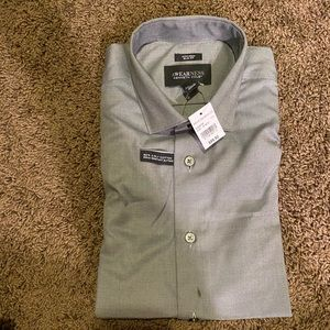 NWT Awareness by Kenneth Cole grey dress shirt